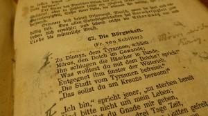 Die Bürgschaft - Friedrich von Schiller