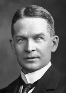 Frederick Soddy im Jahr 1922
