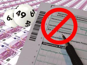 Lottogewinn versteuern